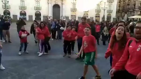 Briganti Rugby di Librino scendono in piazza per riavere il loro campo