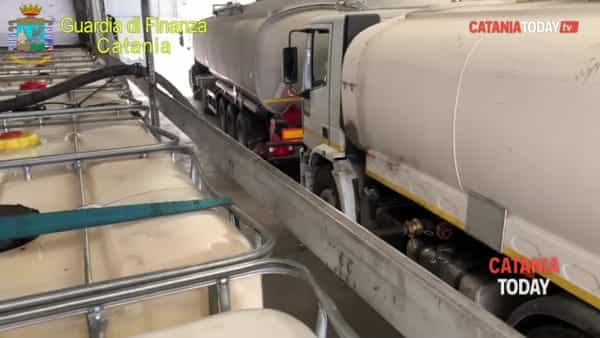 Sequestrati oltre 50 mila litri di gasolio dannoso per il motore delle auto | Video