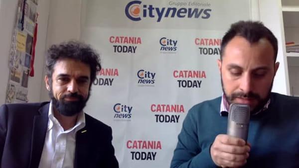 Dino Giarrusso risponde in diretta ai lettori di CataniaToday | Video
