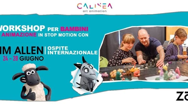 Workshop con Tim Allen per bambini