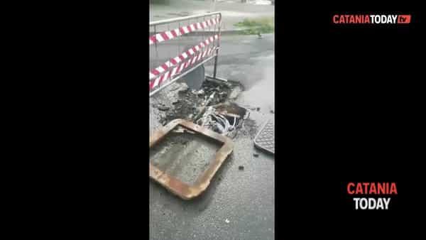 Tubo dell'acqua rotto da mesi a San Giovanni Galermo | Video