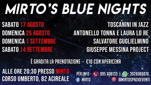 Mirto's Blue Nights - Musica e Cultura
