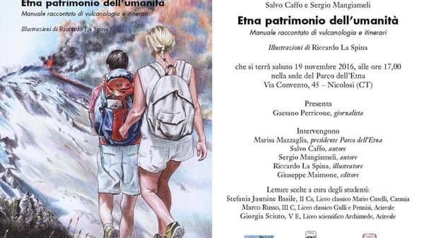 Presentazione del volume 'Etna patrimonio dell'umanità' al Parco dell'Etna