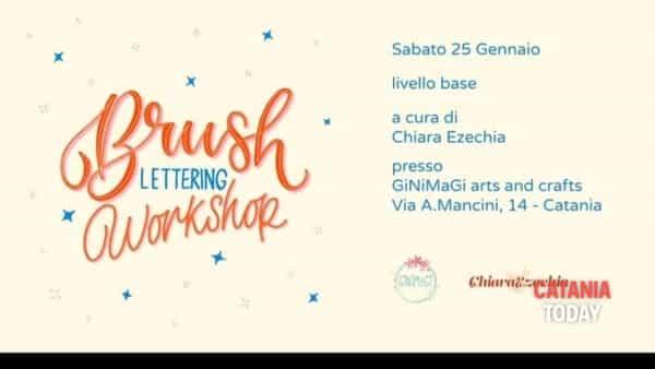 Workshop di 'Brush lettering'
