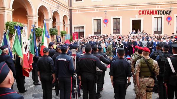 Catania celebra la festa dell'Arma dei carabinieri | Video