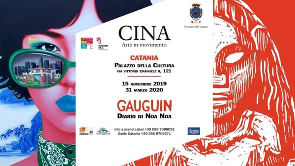 Mostra 'Cina - Arte in movimento e Gauguin'