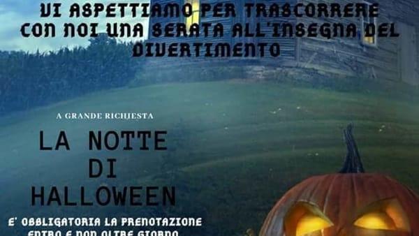 La notte di Halloween al Centro cinofilo Sottotimpa