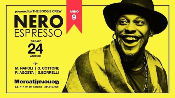 Nero Espresso • Mercati Generali