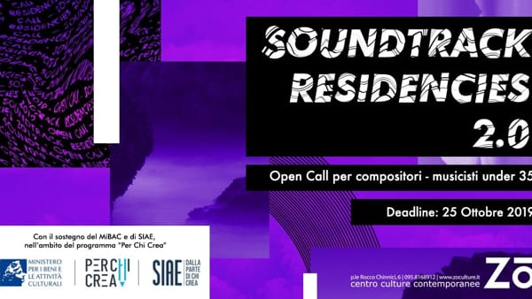 SoundTrack Residencies 2.0 - Open Call