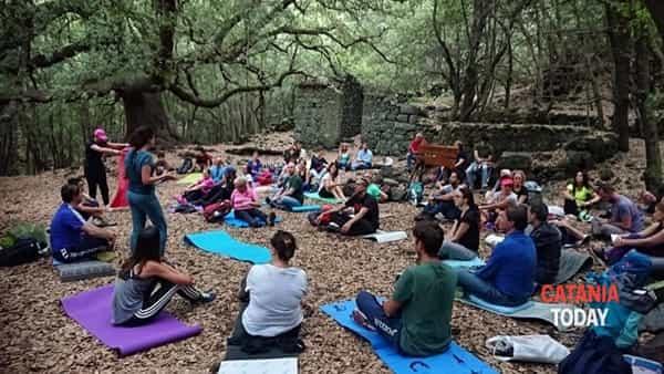 Trekking e meditazione - Bosco dell'Etna