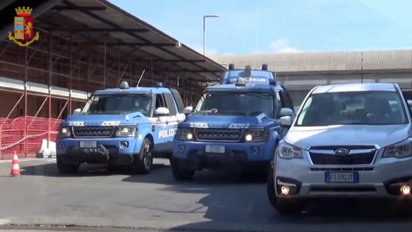 Operazione della polizia nel rione San Berillo | Video