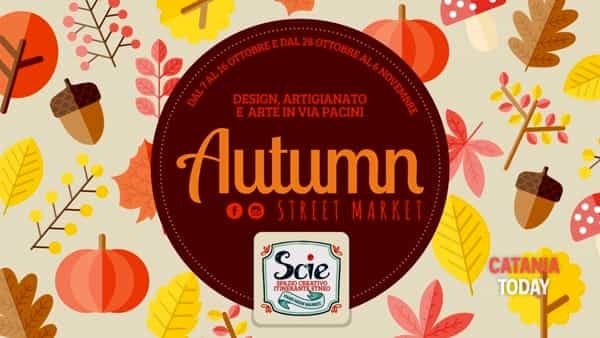 Autumn Street Market in Via Pacini