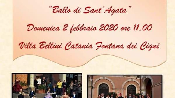 Ballo di Sant'Agata alla Villa Bellini