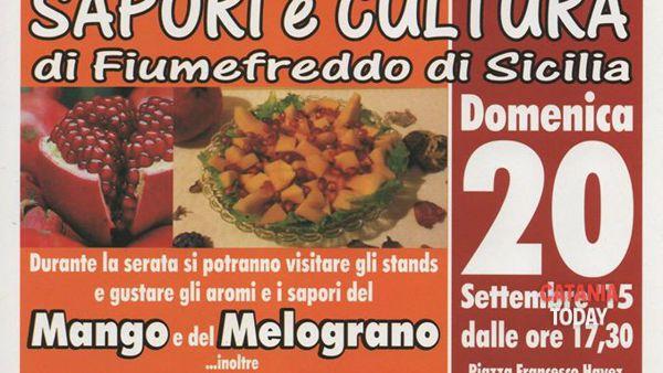 'Sapori e Cultura di Fiumedreddo di Sicilia', la prima edizione domenica 20 settembre