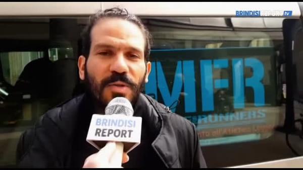 L'astrofisico catanese Luca Naso attraversa l'Italia correndo a piedi | Video