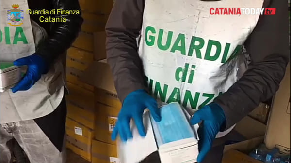 Maxi sequestro di mascherine non sicure | Video
