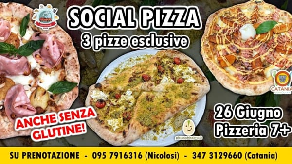 Social Pizza Limited edition 7+