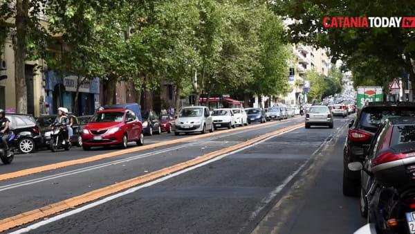 Viale Vittorio Veneto, nuovo sopralluogo per il Brt: cosa ne pensano i catanesi?