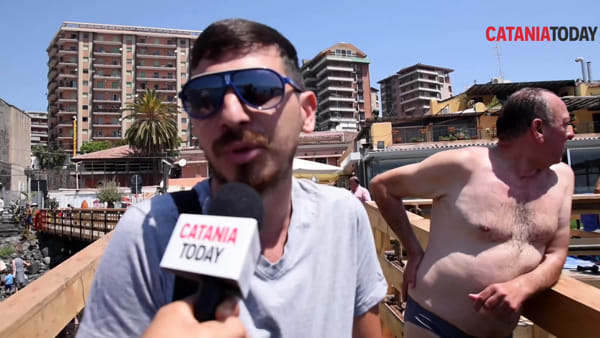 San Giovanni Li Cuti, cosa pensano i catanesi del solarium e della spiaggia?| Video