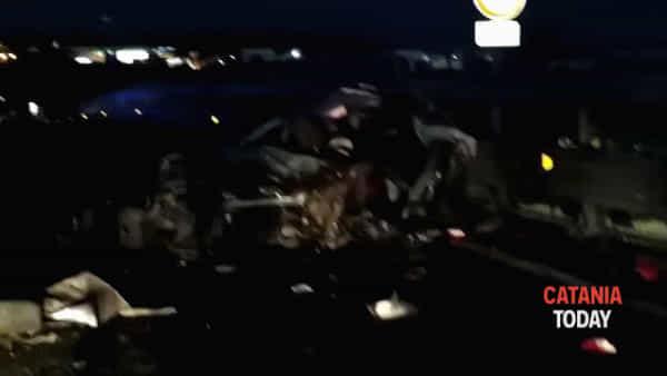 Incidente stradale sull'asse dei servizi: 6 feriti | Video