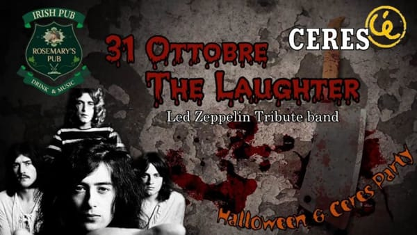 'The Laughter & Ceres Night' al Rosemary Pub