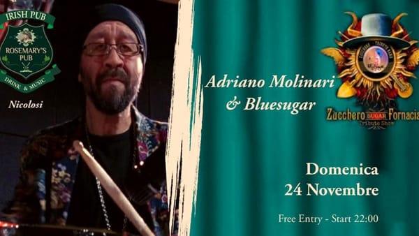 Adriano Molinari&Bluesugar Live