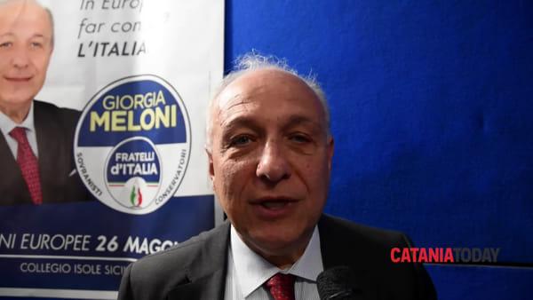 Raffaele Stancanelli presenta la sua candidatura alle elezioni europee | Video