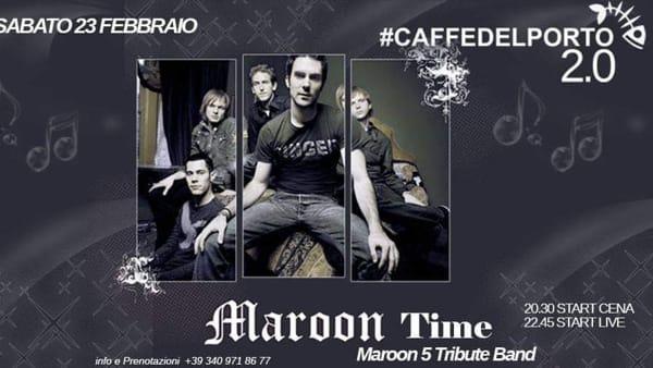 Maaron 5 Tribute Band al Caffè del Porto