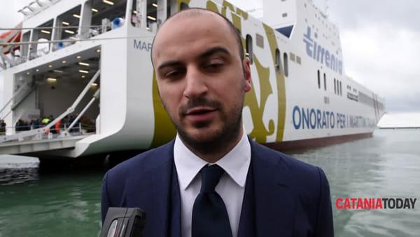 Arriva a Catania la nave trasporti più grande ed ecologica del Mediterraneo | video