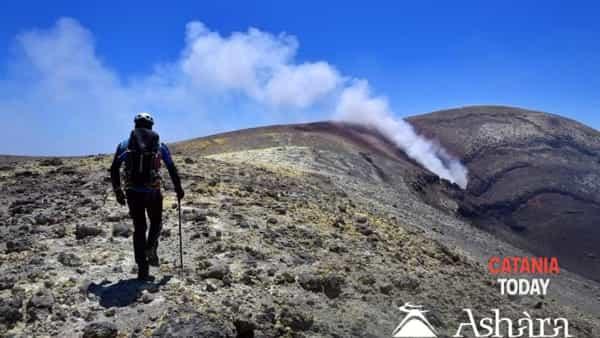 Ascesa fino ai crateri sommitali dell'Etna
