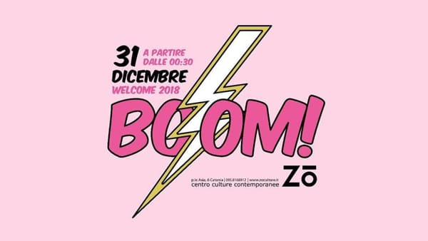 BOOM! Welcome 2018 at Zo