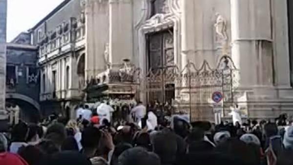 Sant'Agata 2020, il canto delle suore di San Benedetto | Video
