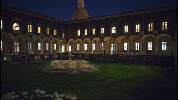 Visite serali guidate al Monastero dei Benedettini per la 'Notte bianca dei Musei'