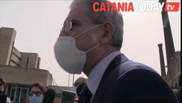 """Falcone: """"Entro giugno ex Palazzo delle Poste sarà demolito"""""""