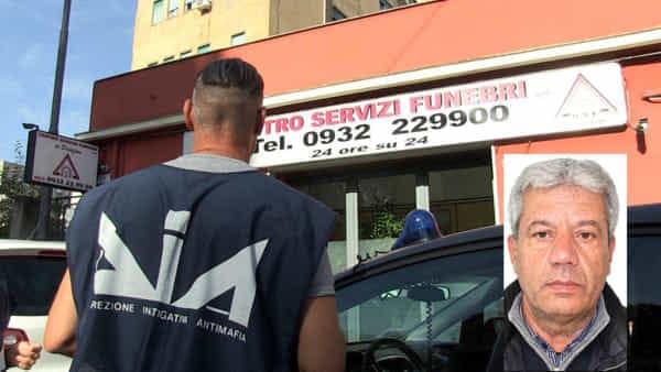 Mafia, arrestati i titolari di una ditta di onoranze funebri