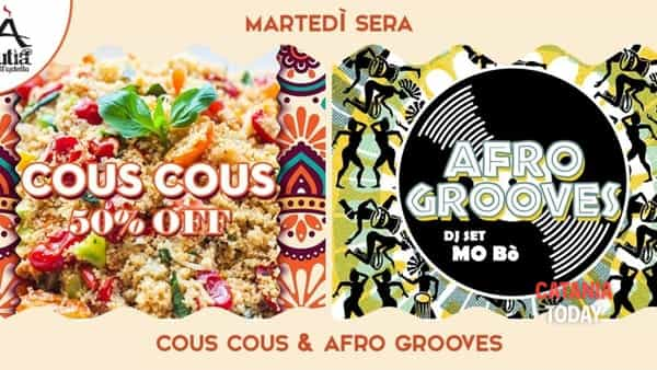 Cous cous&Afro grooves all'Ostello