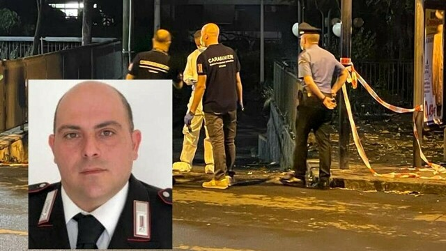 Shooting in Acireale, the wounded carabiniere was transferred to a spinal unit thumbnail