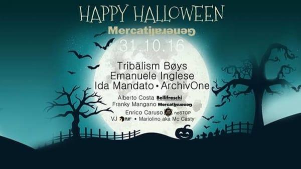 Halloween ● Live&DJset ● Mercati Generali il 31 ottobre