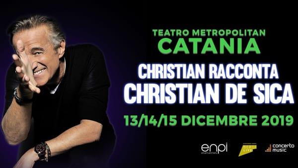 'Christian De Sica racconta Christian De Sica' al Metropolitan