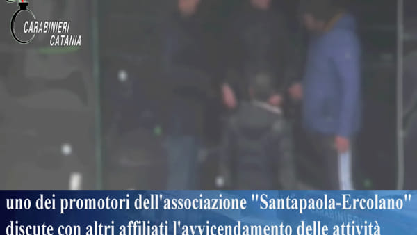 Decimato il clan Santapaola-Ercolano | VIDEO