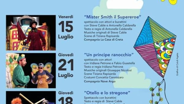 'Mister Smith il Supereroe' all'Anfiteatro di Milo - Rassegna Milofest 2016