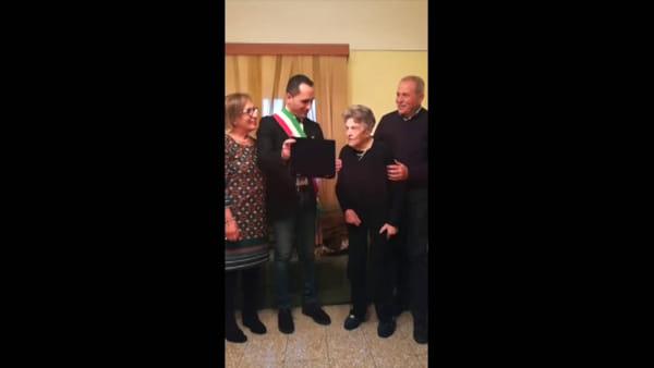 Festa a Castiglione di Sicilia per i 100 anni della signora Mariannina Mangiagli