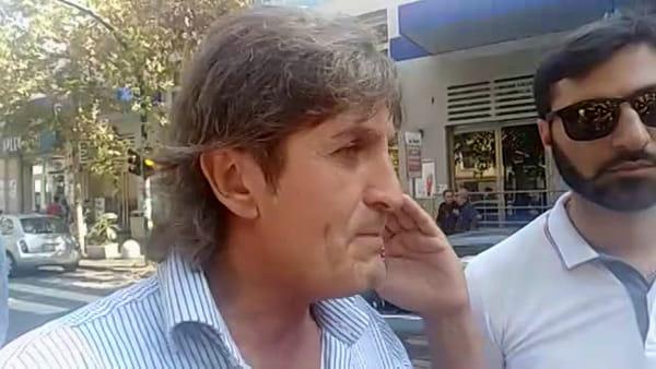 Modifiche al Brt, protestano i commercianti del viale Vittorio Veneto   Video