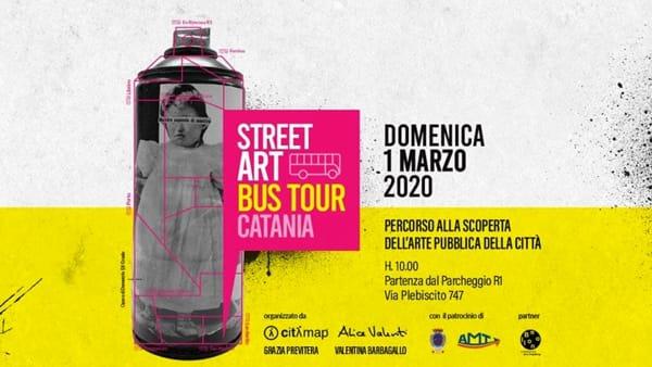 Street Art Bus Tour - Catania