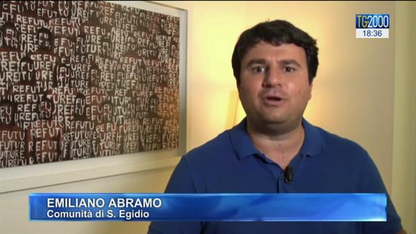 La comunità di Sant'Egidio ospita una famiglia scesa dalla Gregoretti | Video