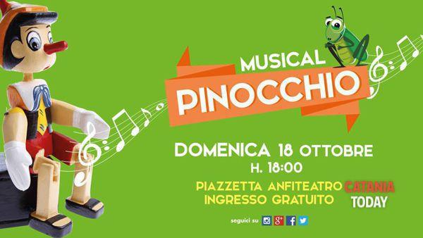 Musical Pinocchio al Parco Commerciale 'Le Zagare'