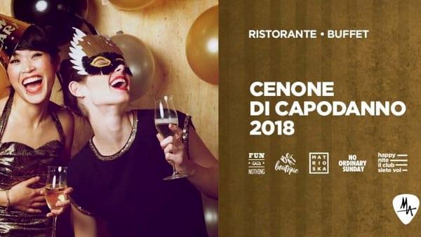 Il Cenone di Capodanno at MA Catania