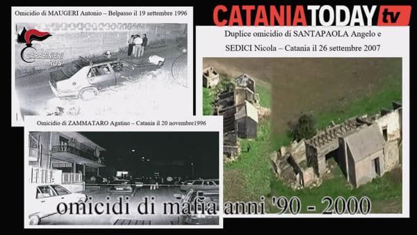 Mafia, 23 arresti per delitti di mafia a Catania