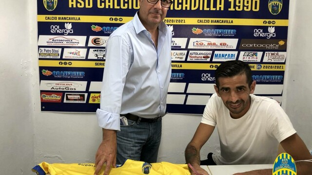 """Serie D, Biancavilla puts """"black on white"""" with Palmisano and Catania thumbnail"""