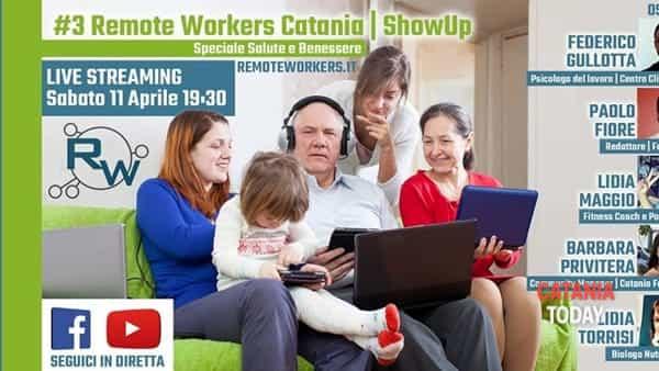 Remote workers catania #3 - Showup salute e benessere